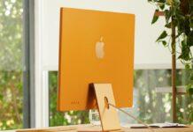 unboxing imac giallo