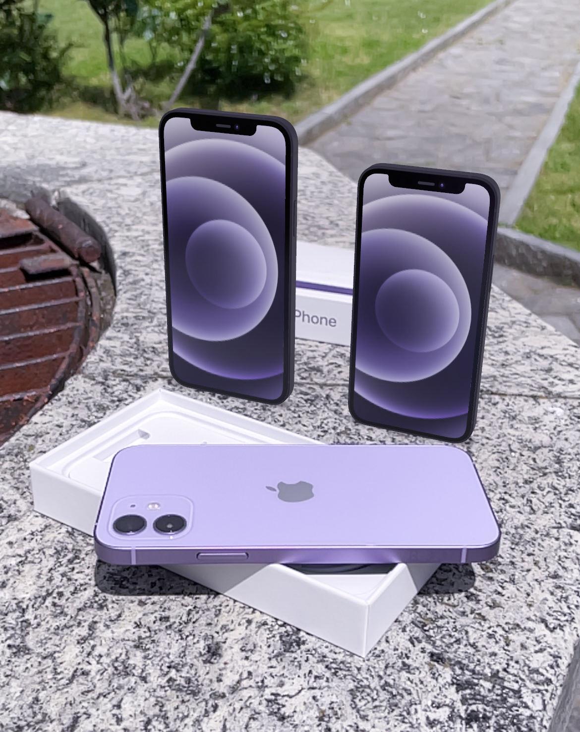 iPhone 12 e iPhone 12 mini viola al mini …