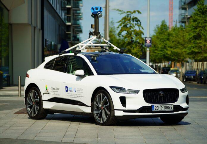 Jaguar Land Rover e Google misurano la qualità dell'aria a Dublino con una I-PACE elettrica