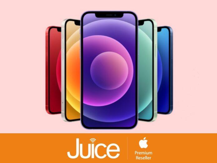 Juice sconta iPhone 12, Qshino abbinato a solo 1 euro