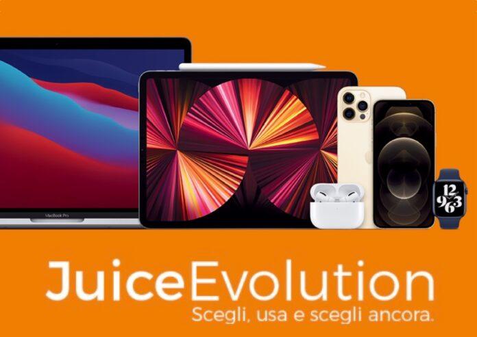 Con JuiceEvolution iPhone, iPad, Mac e Watch sono sempre nuovi