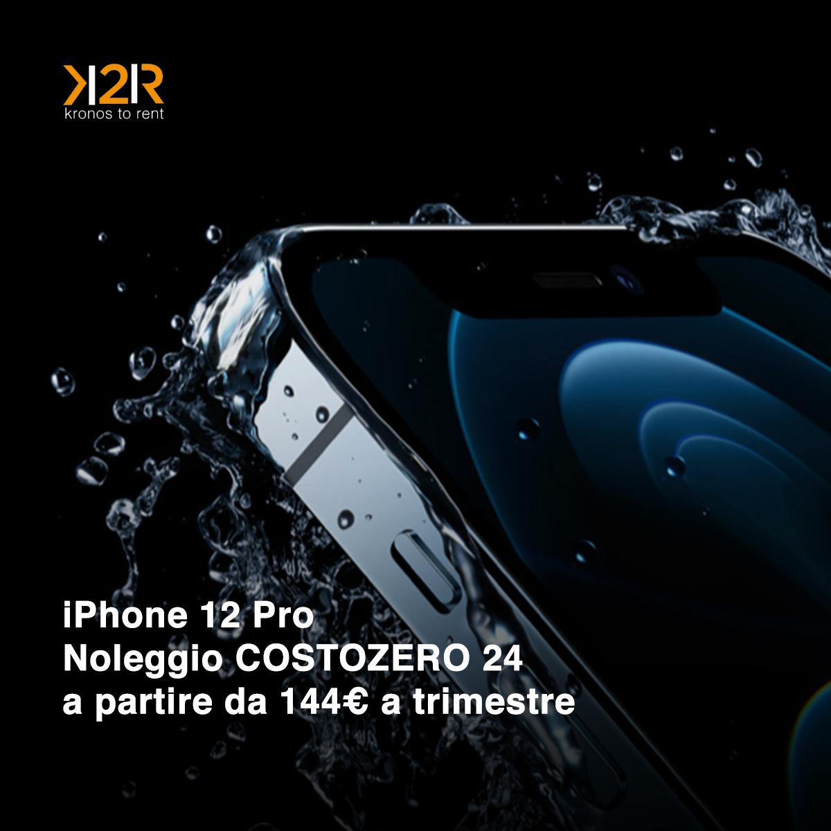 Noleggia Mac, iPhone e iPad anche per 36 mesi a COSTOZERO con K2Rent