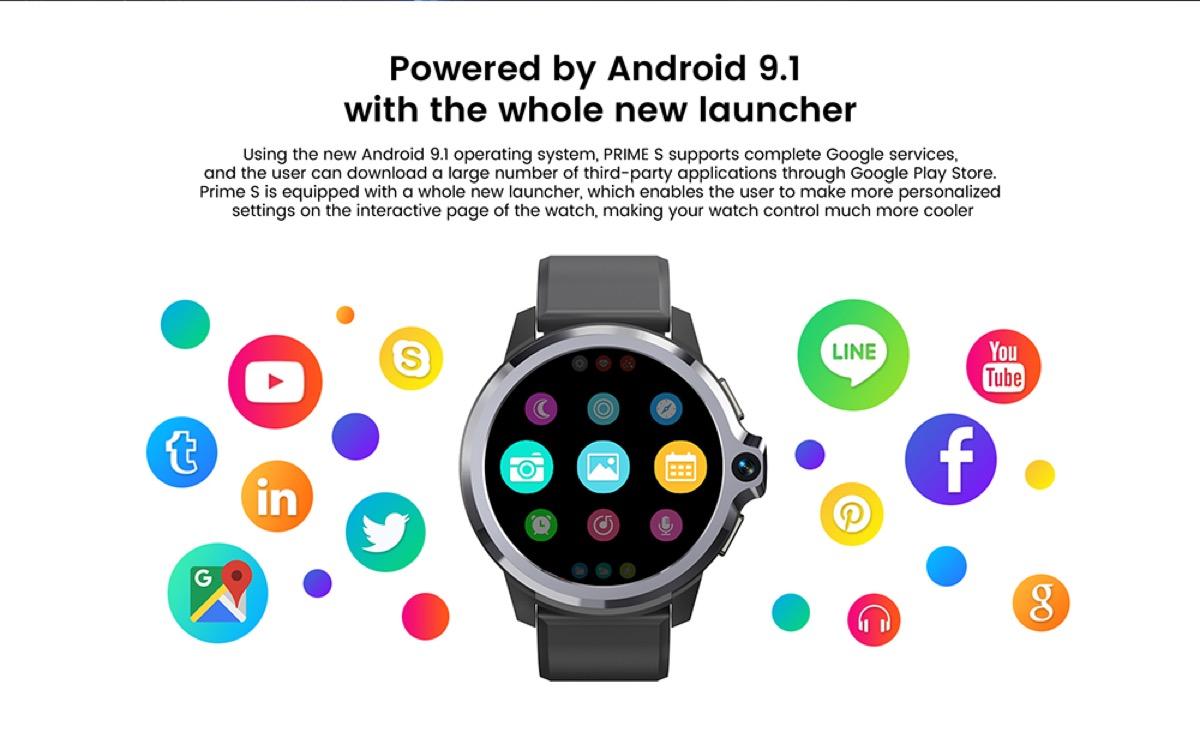 KOSPET Prime S, il primo smartwatch con doppio chip e doppia modalità a 90 euro