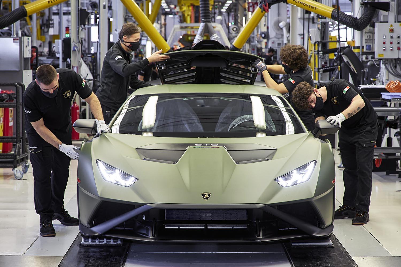 La roadmap di Lamborghini verso l'elettrificazione