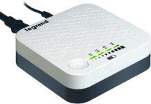 KeoC DC è il gruppo di continuità per Modem/router di Bticino
