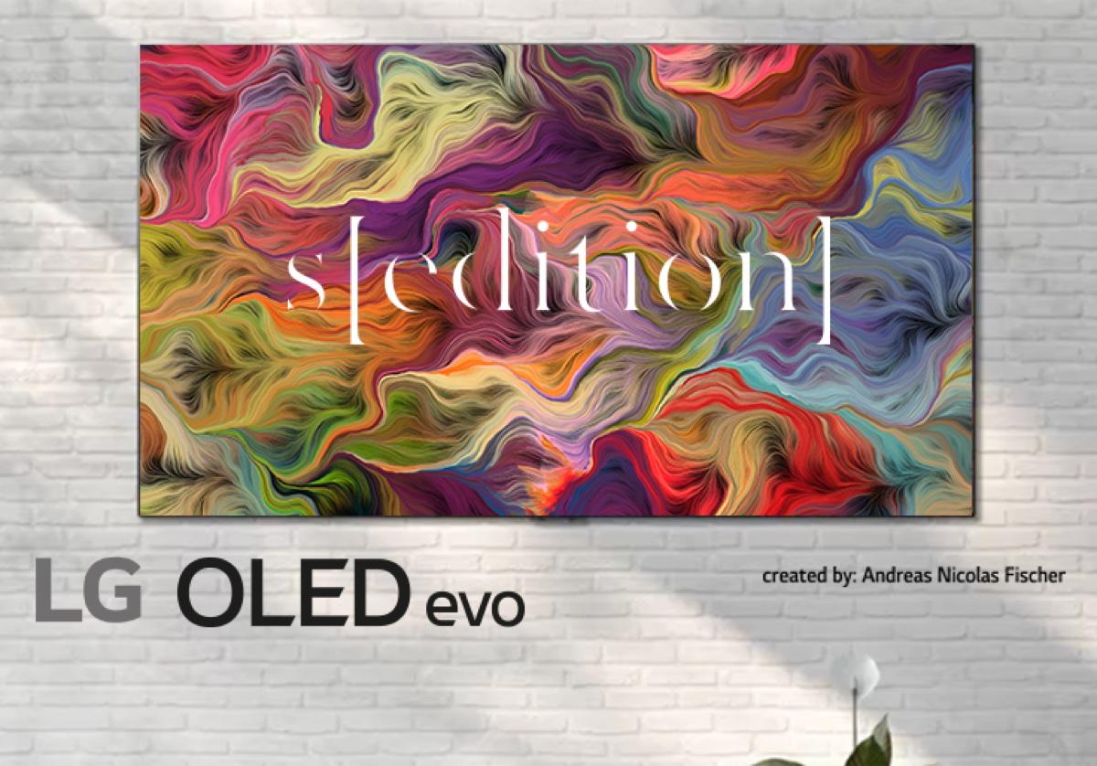 LG OLED TV trasforma la casa in galleria d'arte con Art Stream