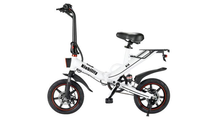 NIUBILITY B14, 80km di autonomia per questa bici elettrica pieghevole