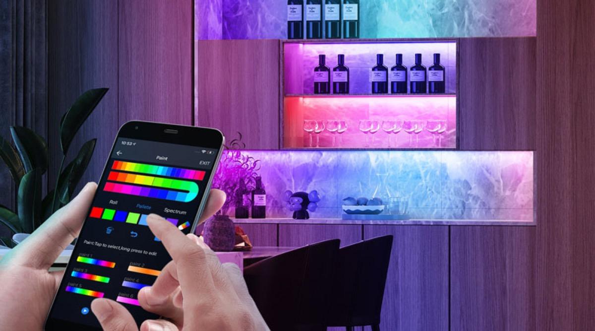 Strisce LED Onvis Kameleon da 2 e 5 metri compatibili con HomeKit