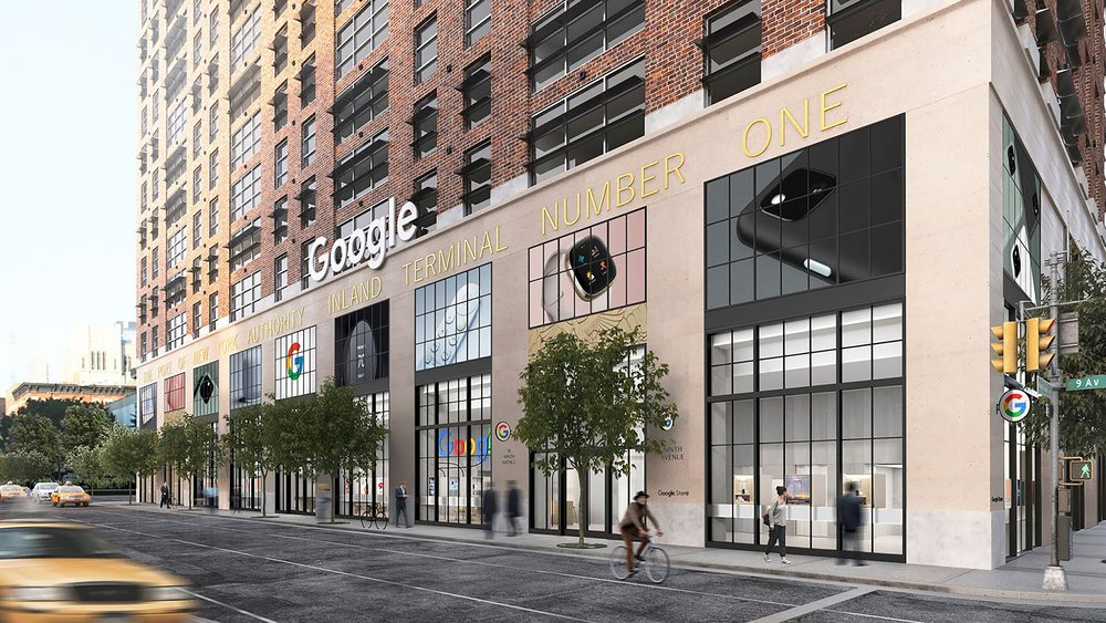 Il primo Google Store aprirà quest'estate a New York