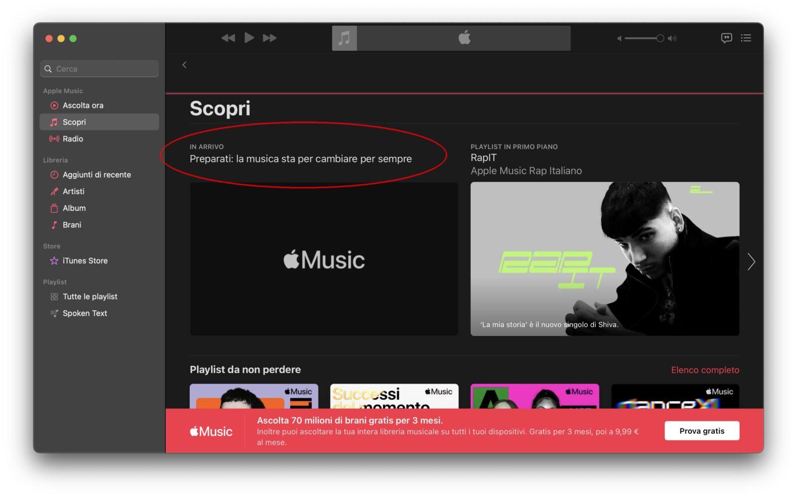Apple Music: quasi ufficiale il supporto al formato alta risoluzione lossless