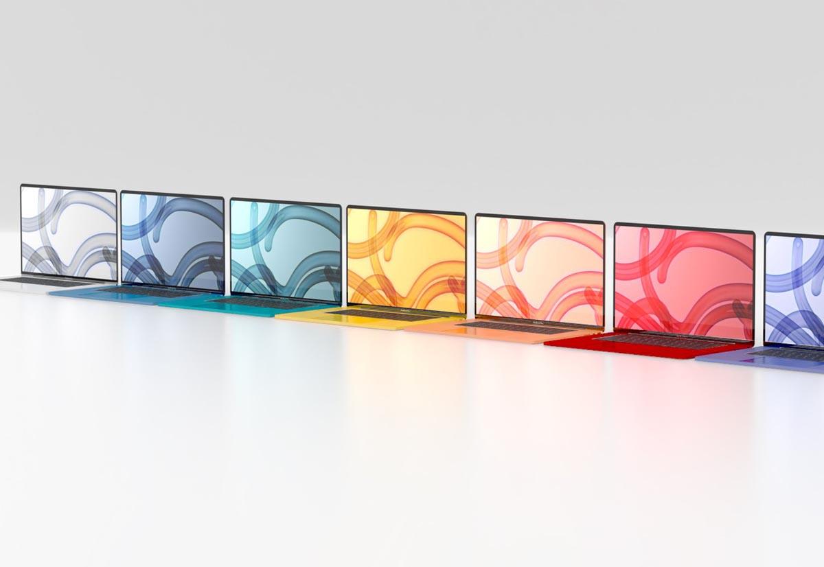 I prossimi MacBook Air saranno colorati  …