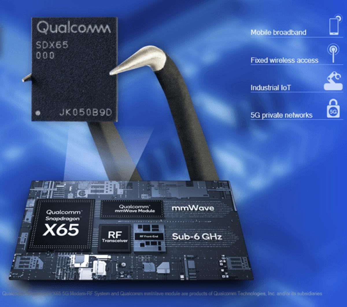Qualcomm potenzia Snapdragon X65 in vista di iPhone 14