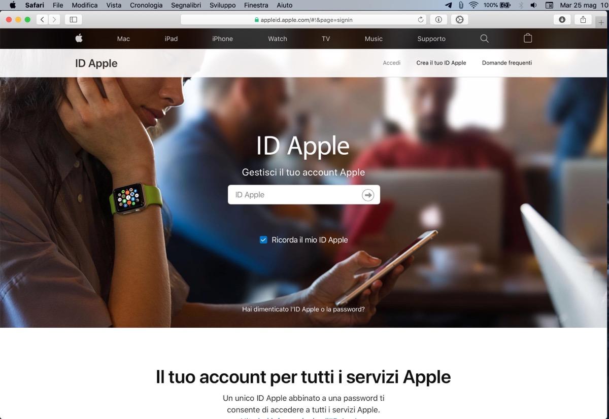 apple id numeri