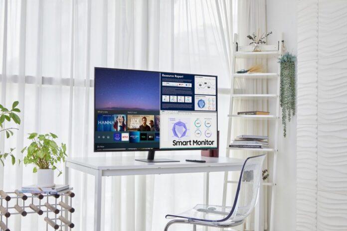 Samsung svela gli Smart Monitor da 24 e 43 pollici