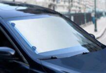 Baseus, il parasole arrotolabile per auto in offerta lampo a 27 euro