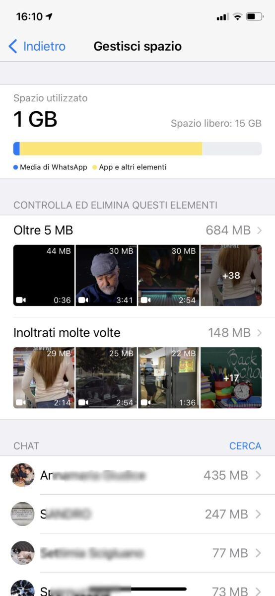 Il vostro iPhone non ha più spazio libero? Come liberare memoria dal telefono