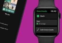 Spotify, ora download dei brani e ascolto diretto su Apple Watch