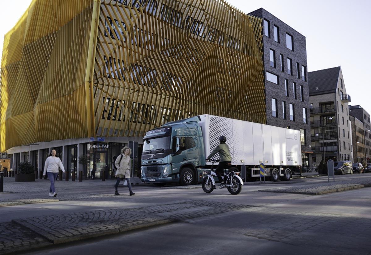 Volvo Trucks ha predisposto suoni unici per i suoi camion elettrici
