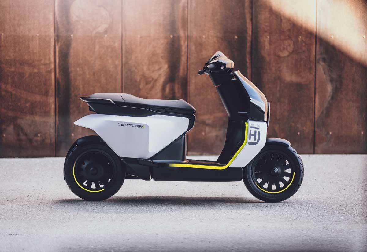 Vektorr è un concept di scooter elettri …