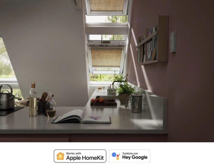 Velux App control porta le finestre su Homekit e Google e le controlla a distanza
