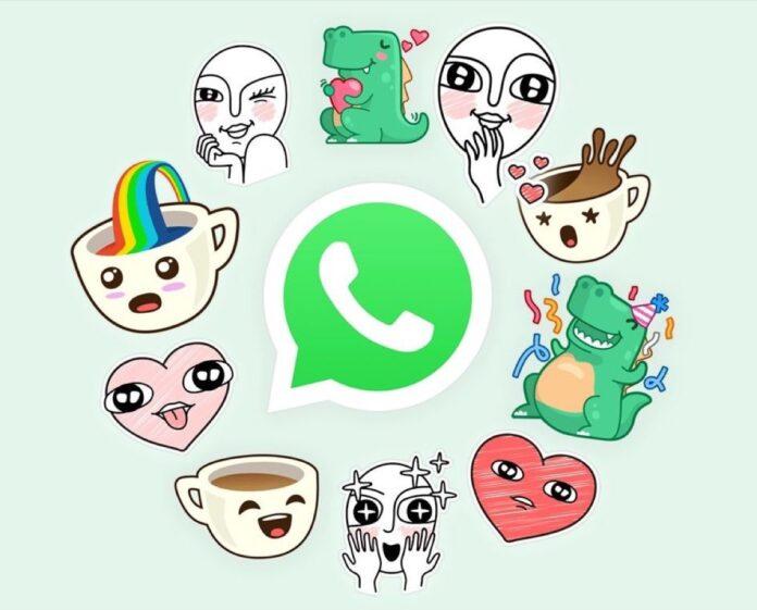 WhatsApp testa i suggerimenti per gli adesivi