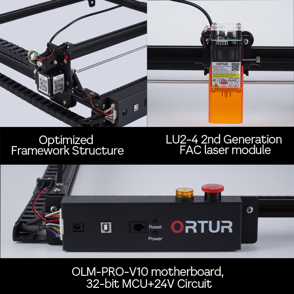 Incisore laser Ortur Laser Master 2 Pro: offerta bomba