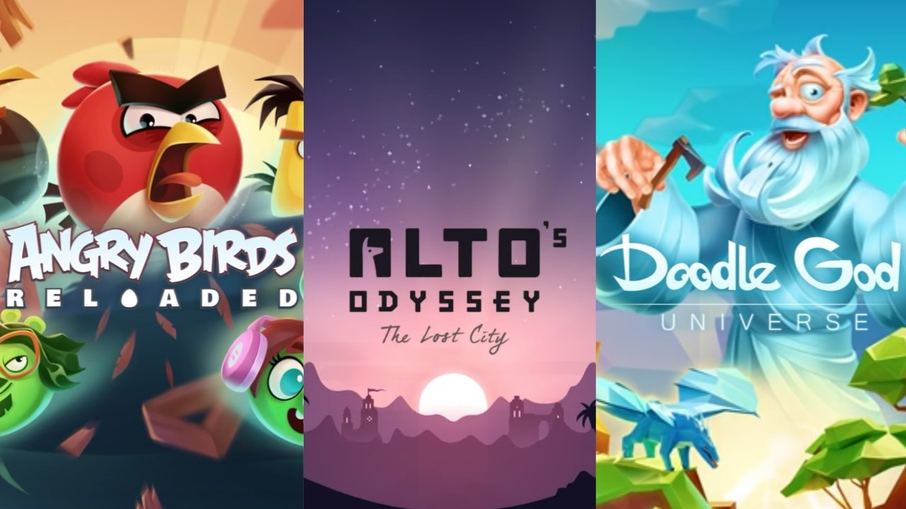 Apple Arcade rivive: in arrivo Angry Birds, Doodle God e Alto's Odyssey
