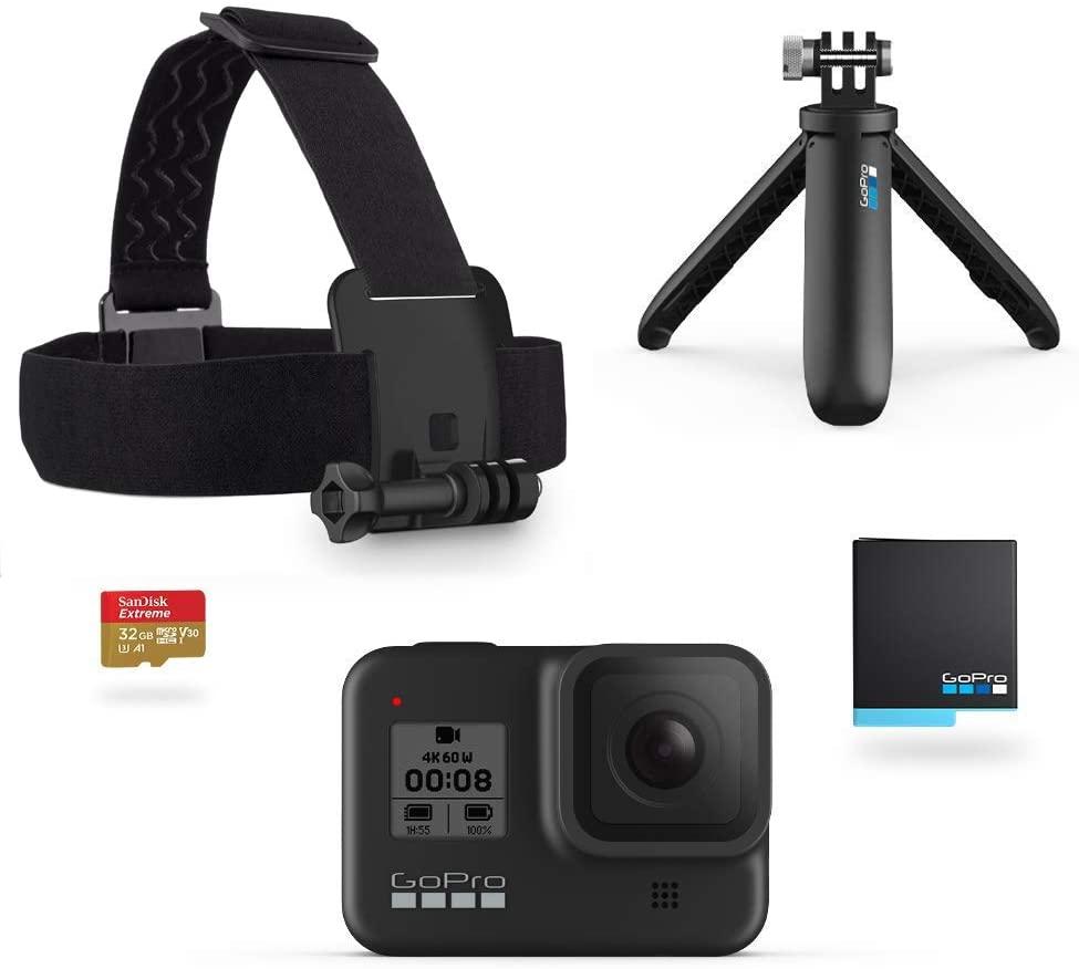 Per il Prime day GoPro HERO8 Black in bundle con 90 euro di sconto