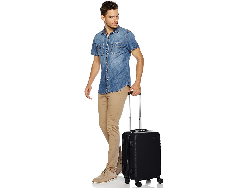 Valigie Amazon Basic, prezzi bassi e qualità alta per le vostre vacanze