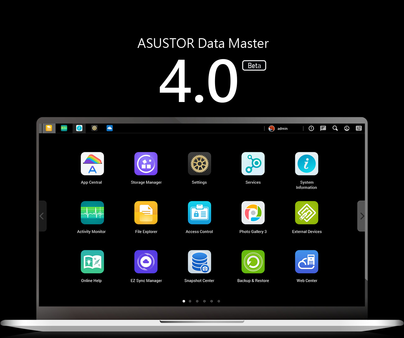 Disponibile ADM 4.0 Beta per i NAS ASUSTOR