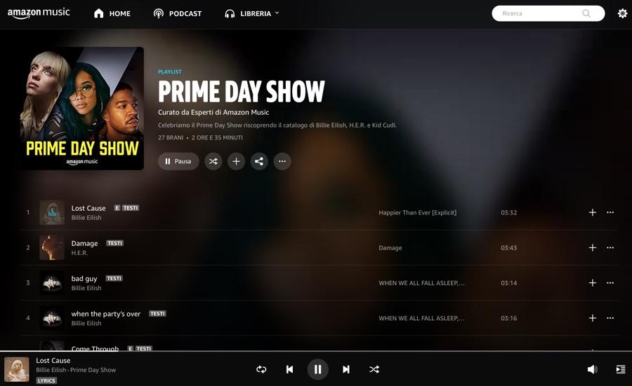 Prime Day Show, eventi musicali online il 17 e 18 giugno