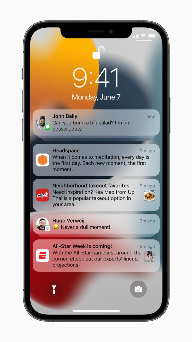 iOS 15, le principali novità