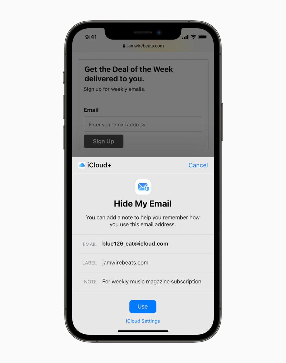 Le novità per la privacy con iOS 15, iPadOS 15, macOS Monterey e watchOS 8