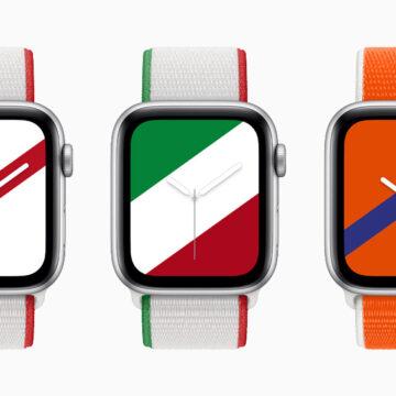 Apple lancia i cinturini Sport Collectione internazionale