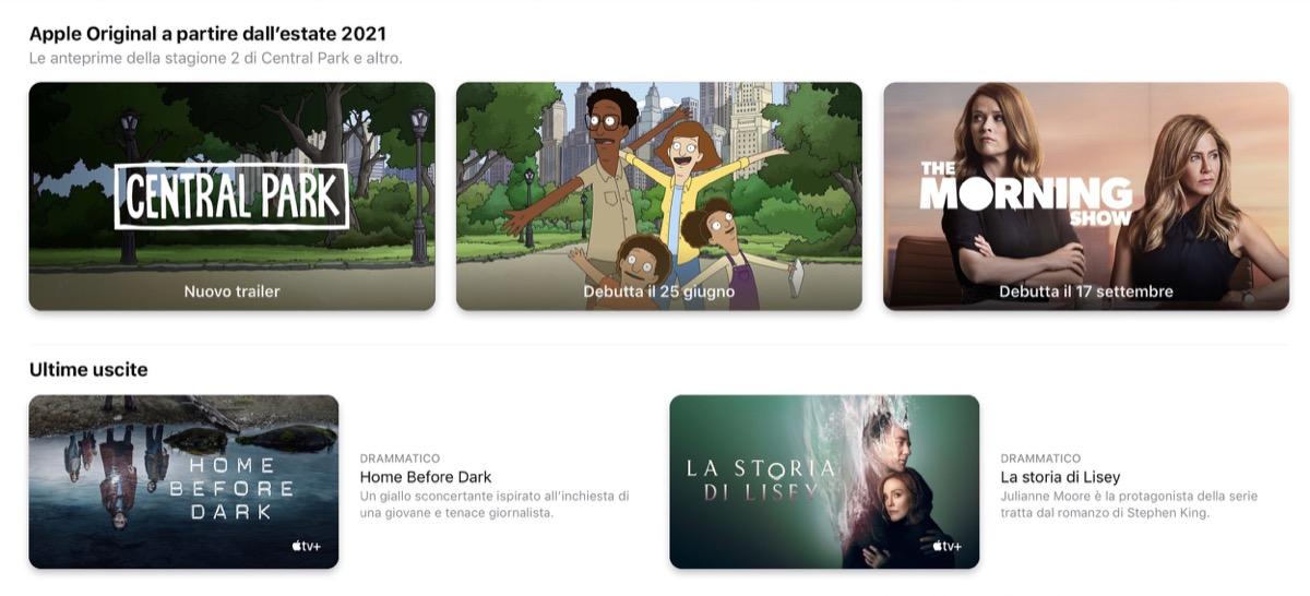 apple tv+ scadenza
