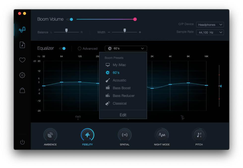 Boom 2, aggiornata l'utility per controllare con precisione l'audio del Mac