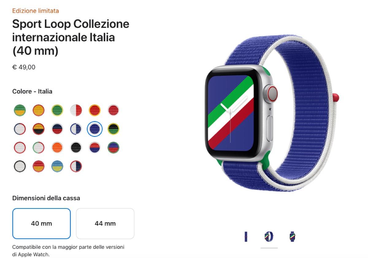Apple presenta cinturini e quadranti in vista delle Olimpiadi