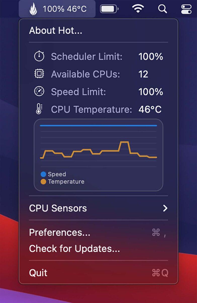 temperatura M1