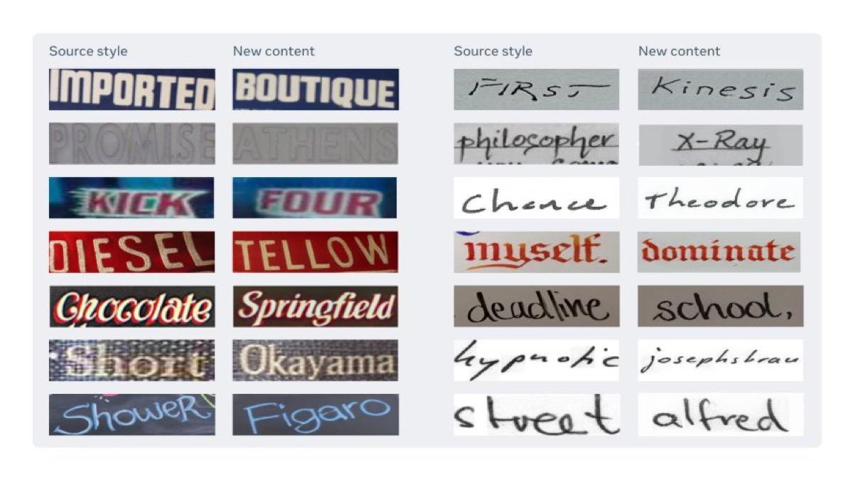 ai facebook riconosce calligrafia