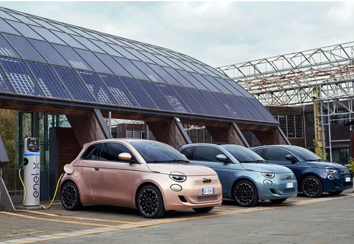 Fiat vuole produrre entro il 2030 solo veicoli elettrici