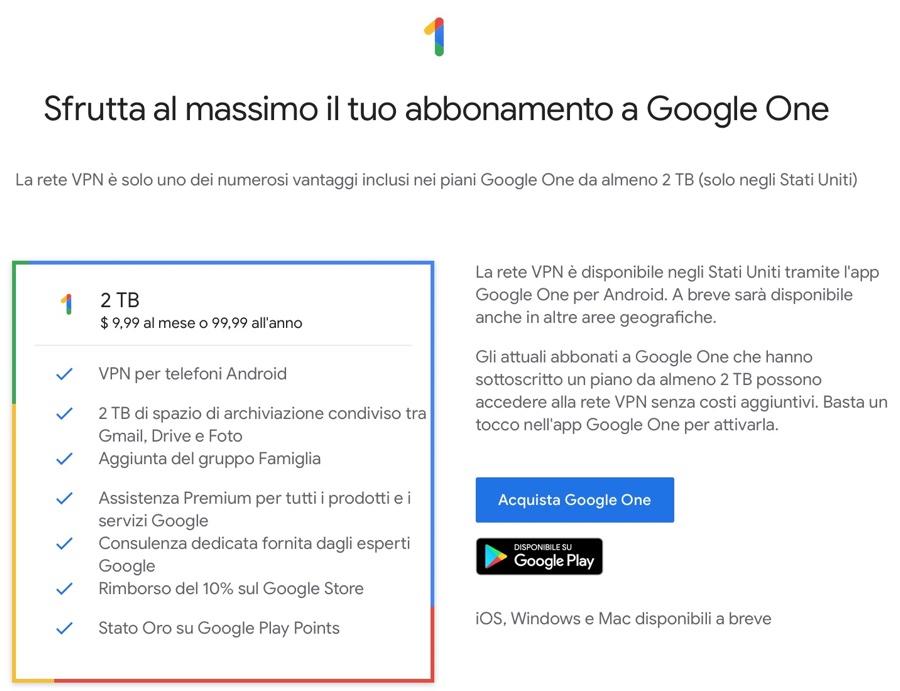 Google Fi VPN ora è disponibile per iPhone