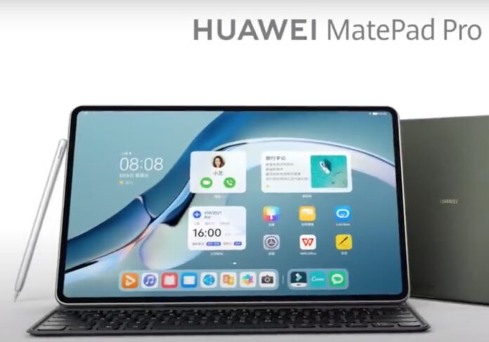 Huawei MatePad Pro con HarmonyOS 2 prende ispirazione da Apple