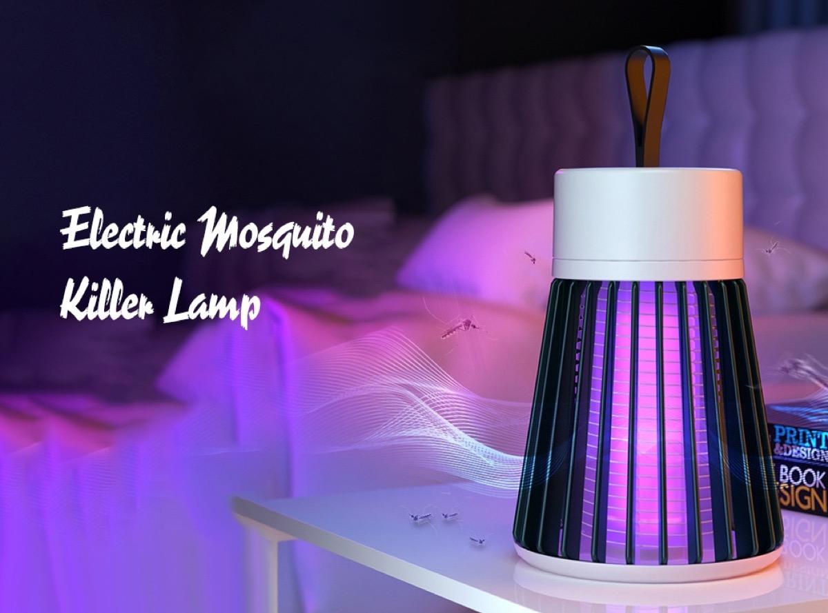 Solo 8 euro per la lampada anti zanzare con design moderno