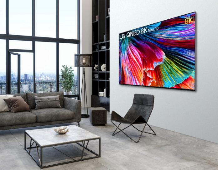 LG annuncia la gamma TV QNED Mini LED in Italia