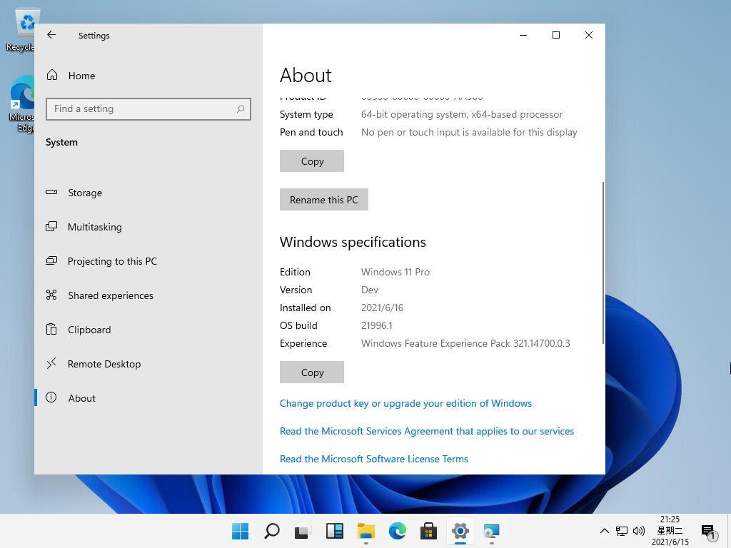 Windows 11, online le prime schermate