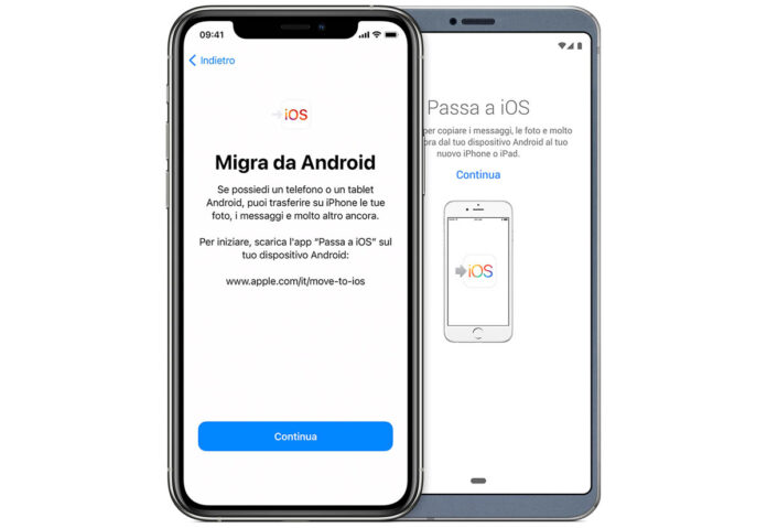 """Apple lavora per migliorare l'app """"Passa a iOS"""" per Android"""