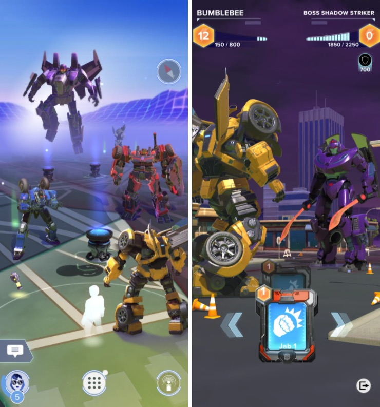 Niantic lancerà un gioco Transformers in stile Pokemon Go