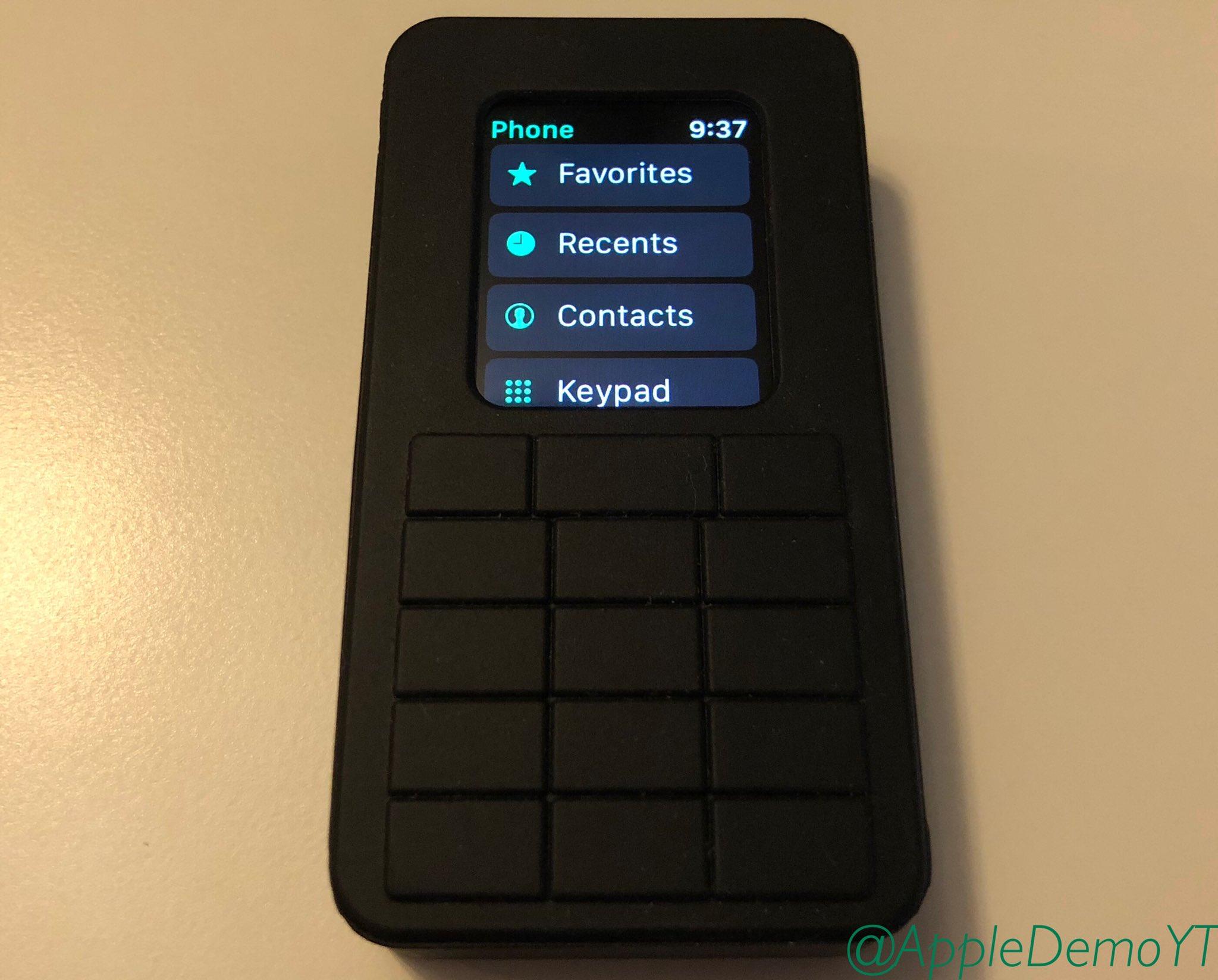 prototipo apple watch cellulare