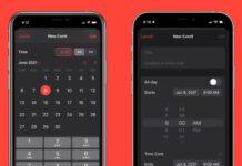 Su iOS 15 ritorna il selettore ore e minuti del passato