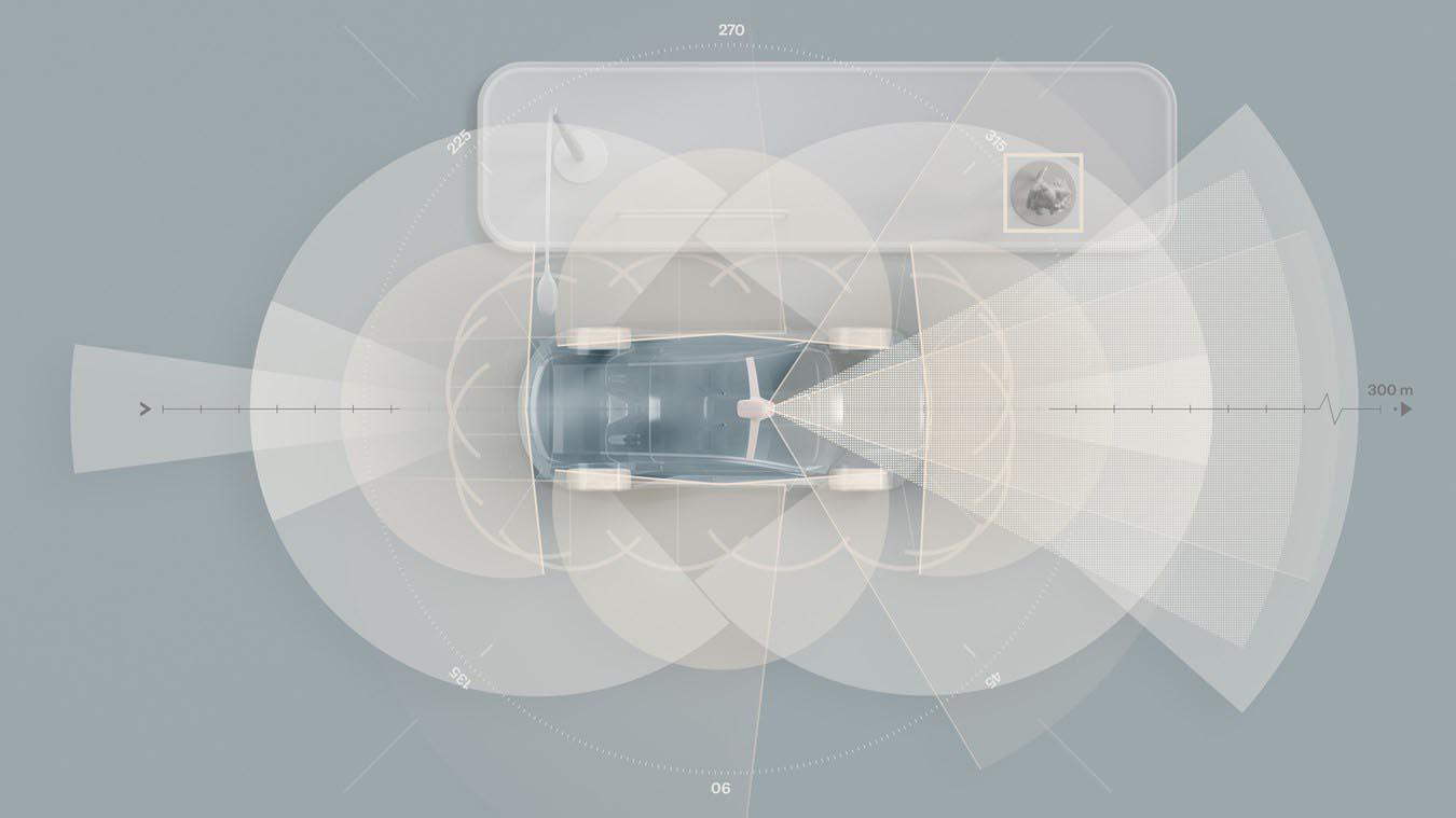 Nelle future Volvo solo elettiche tecnologia LiDAR e super computer basato sull'AI
